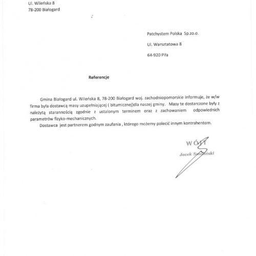 Patchsystem Polska - referencje